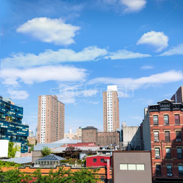 Yüksek hat park Manhattan New York şehir Stok fotoğraf © lunamarina
