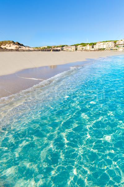 Foto stock: Praia · mallorca · Espanha · água · natureza