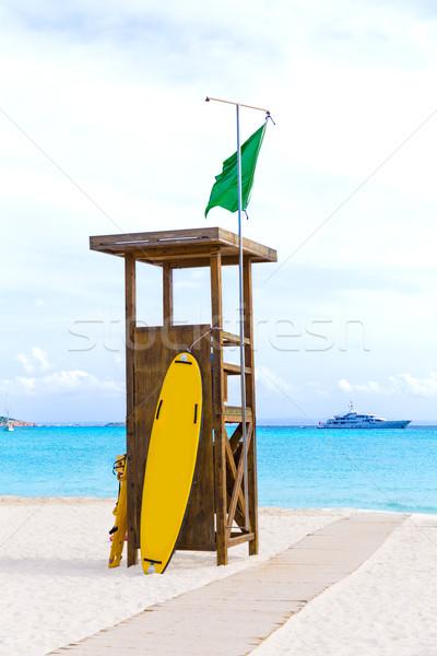 Praia paisagem mar verão oceano azul Foto stock © lunamarina
