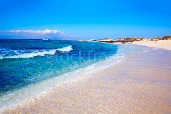 Majanicho beach Fuerteventura Canary Island Stock photo © lunamarina