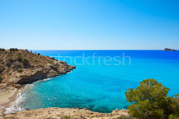 Benidorm beach Alicante Mediterranean Spain Stock photo © lunamarina