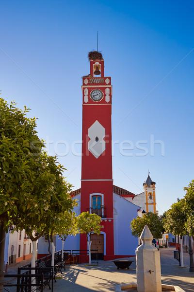 Almaden de la Plata Via de la Plata Way Spain Stock photo © lunamarina