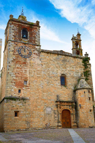 Caceres San Mateo church in Spain  Stock photo © lunamarina