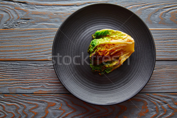 endive little Lettuce grilled with vinaigrette Stock photo © lunamarina