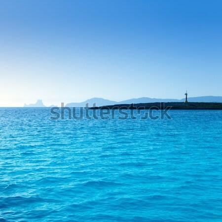 Espalmador in formentera island with Gastabi islet Stock photo © lunamarina