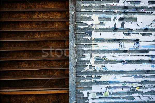 Old town wall city textures Stock photo © lunamarina