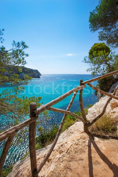 Turquesa mediterrânico mar água natureza paisagem Foto stock © lunamarina