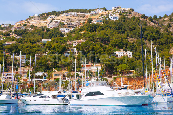 Javea Xabia port marina vacation destination in Alicante Stock photo © lunamarina