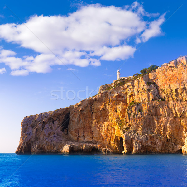 Javea Cabo la Nao Lighthouse Mediterranean Spain Stock photo © lunamarina