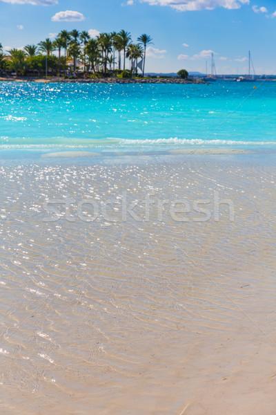 Stock photo: Platja de Alcudia beach in Mallorca Majorca