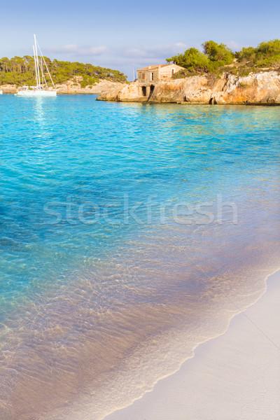 Majorca sAmarador beach Amarador in Mondrago Stock photo © lunamarina