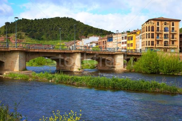 Najera by The way of Saint James in La Rioja Stock photo © lunamarina