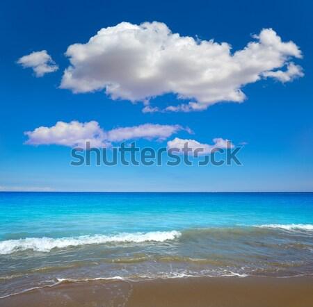 Las Marinas beach in Denia at alicante spain Stock photo © lunamarina