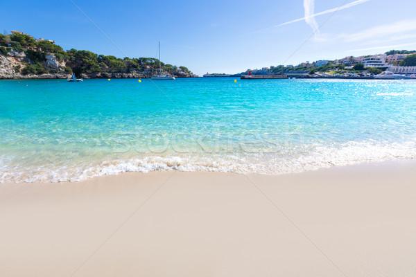 Majorca Porto Cristo beach in Manacor at Mallorca Stock photo © lunamarina
