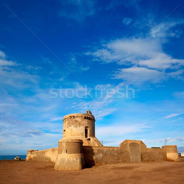 Almeria Cabo de Gata tower Torreon in San Miguel Stock photo © lunamarina