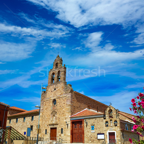 San Francisco church Astorga saint James Way Stock photo © lunamarina