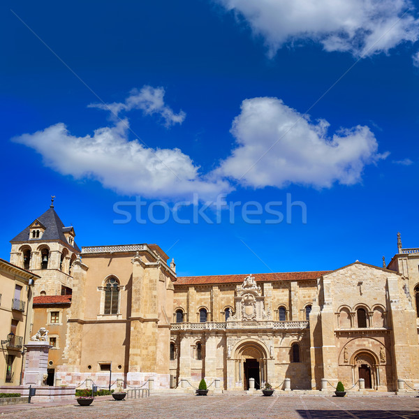 Leon San Isidoro church by way of saint James Stock photo © lunamarina
