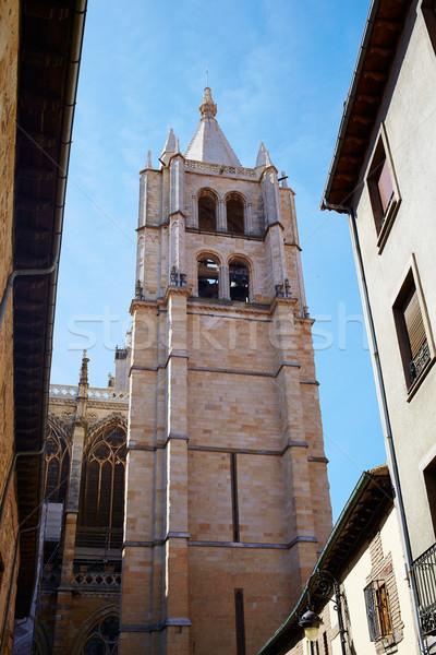 Katedrális épület templom kő építészet vallás Stock fotó © lunamarina