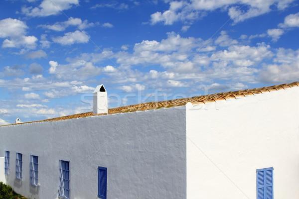 architecture balearic islands Formentera houses Stock photo © lunamarina