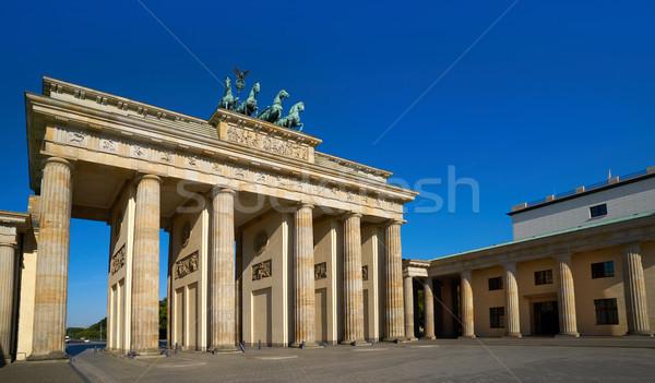 Berlin Brandenburg Gate Brandenburger Tor Stock photo © lunamarina