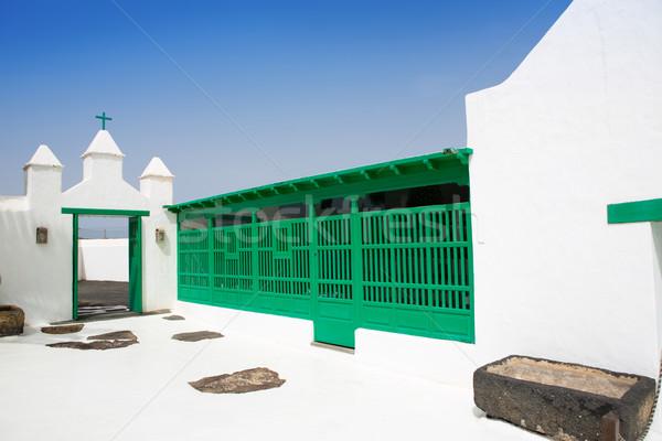 Lanzarote san Bartolome monumento Campesino Stock photo © lunamarina