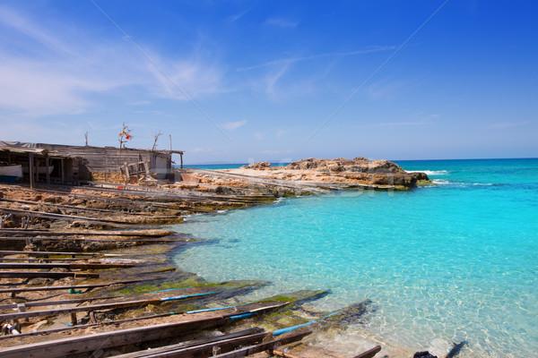 Foto stock: Puerto · agua · agua · playa · naturaleza · verano