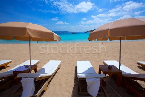 Praia turquesa mediterrânico mar fundo verão Foto stock © lunamarina