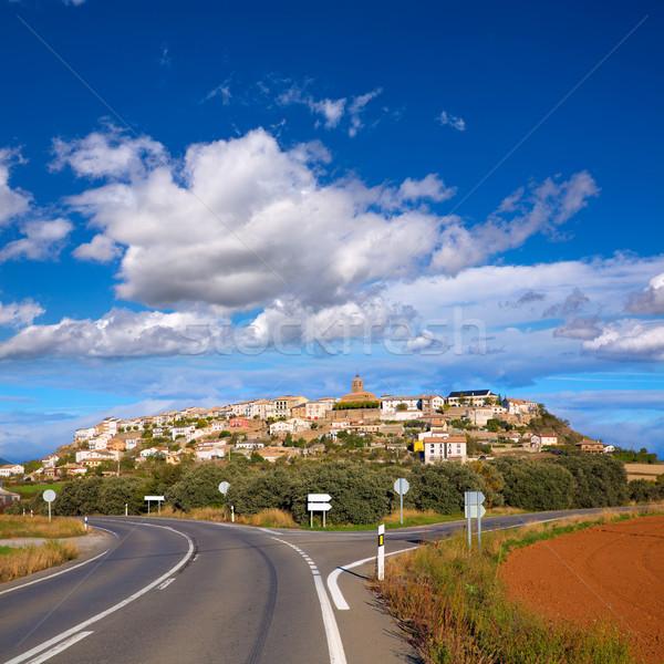 Berdun in Huesca Aragon Pyrenees of Spain Stock photo © lunamarina