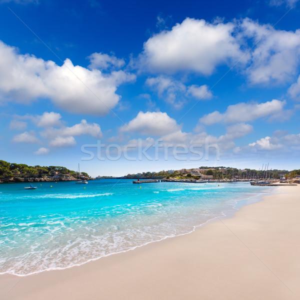 Foto stock: Praia · mallorca · ilha · Espanha · paisagem · verão