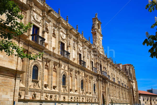 Stock photo: San Marcos in Leon at the way of Saint James
