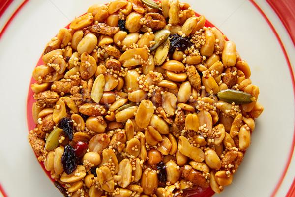 Mexican candy dolce arachidi croccante frutta Foto d'archivio © lunamarina