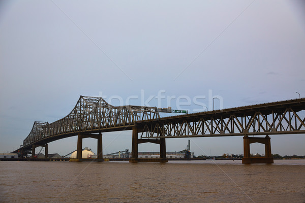 Louisiana Horace Wilkinson Bridge Mississippi river Stock photo © lunamarina