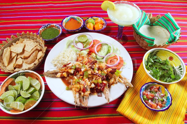 Stok fotoğraf: çili · Meksika · yemek · nachos · Meksika