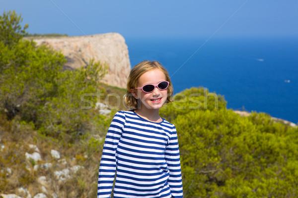 子 子供 少女 地中海 海 船乗り ストックフォト © lunamarina