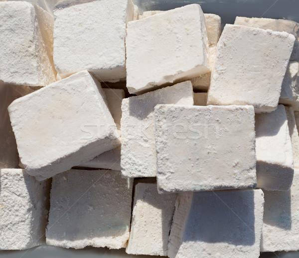 伝統的に 石鹸 勝利 白 キューブ パターン ストックフォト © lunamarina