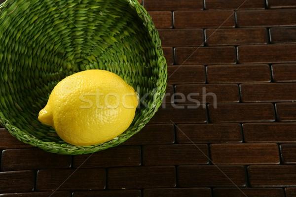 Lemon citric fruit Stock photo © lunamarina