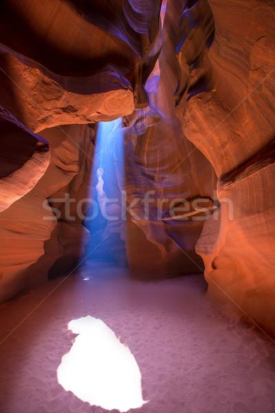 Antelope Canyon Arizona on Navajo land near Page  Stock photo © lunamarina