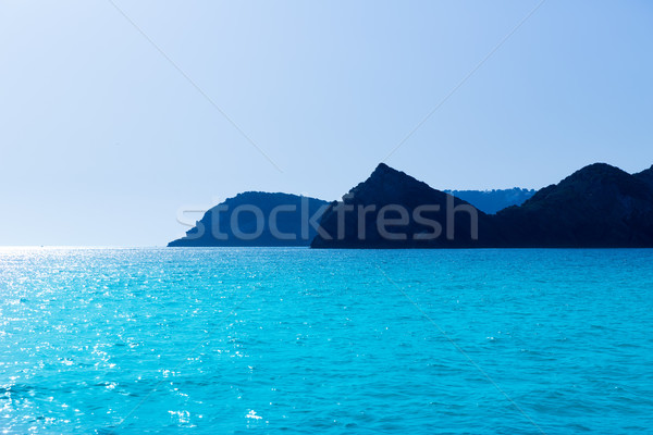 Javea Xabia Cabo San Martin cape and Potixol Spain Stock photo © lunamarina