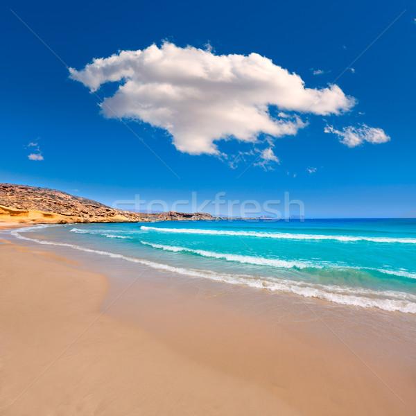 LA tengerpart mediterrán tenger Spanyolország tavasz Stock fotó © lunamarina