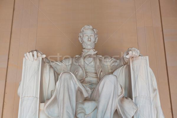 Abraham Lincoln Memorial building Washington DC Stock photo © lunamarina