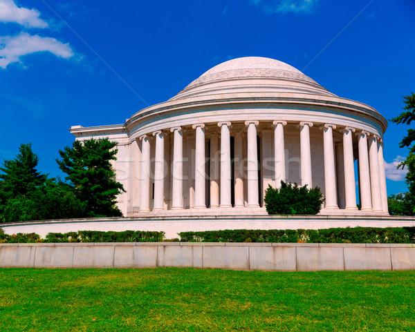Foto d'archivio: Washington · DC · USA · costruzione · città · blu · viaggio