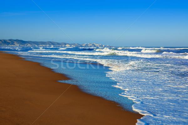Foto stock: Praia · Valência · Espanha · mar · oceano · viajar