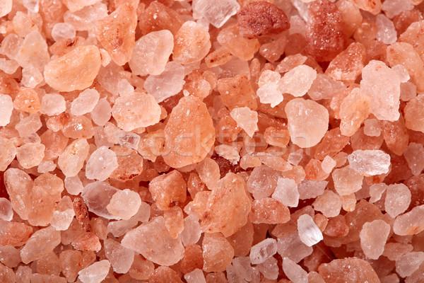 Rózsaszín só Himalája hegyek textúra makró Stock fotó © lunamarina
