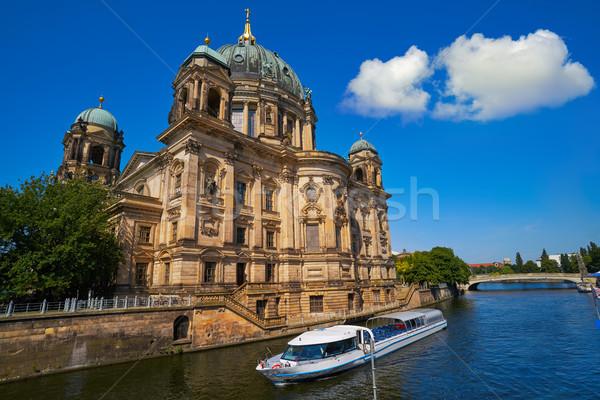 Берлин собора Германия реке небе здании Сток-фото © lunamarina