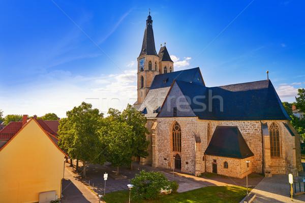 église Allemagne printemps ville montagne été Photo stock © lunamarina