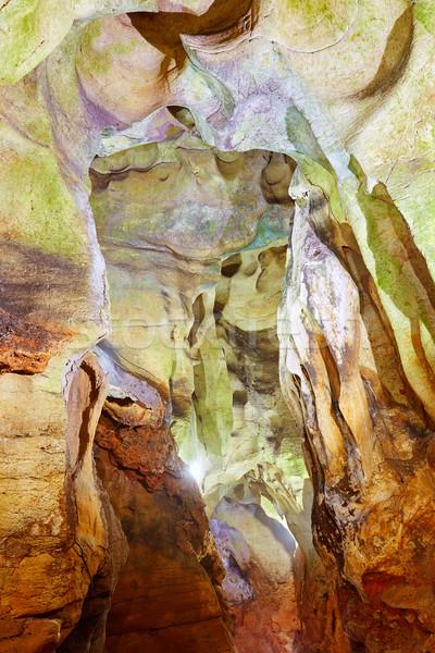 Benidoleig Cueva Calaveras cavern in Alicante Stock photo © lunamarina