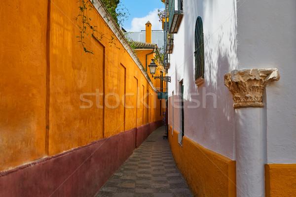 Seville Juderia barrio Andalusia Sevilla Spain Stock photo © lunamarina
