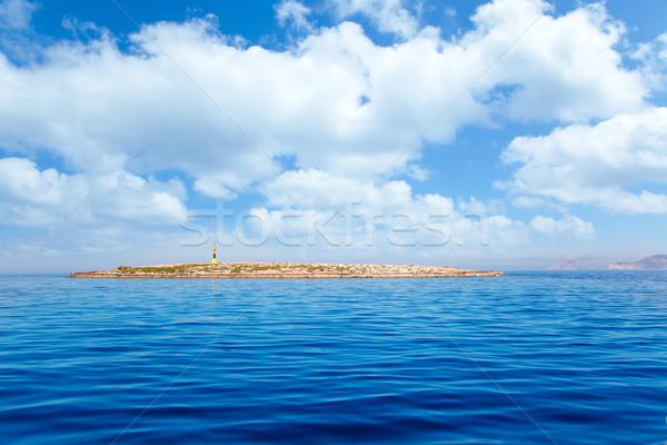 Espalmador in Formentera island Gastabi lighthouse Stock photo © lunamarina