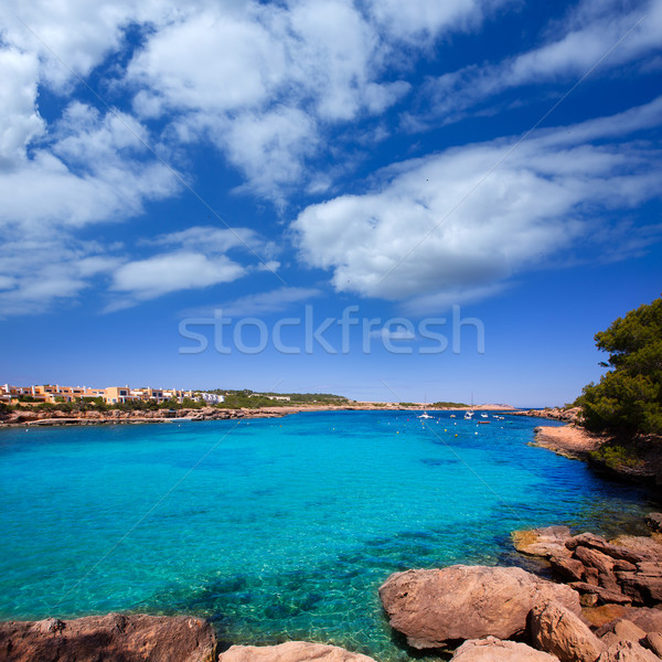 Ibiza Port des Torrent near San Antonio beach Stock photo © lunamarina