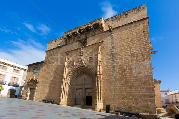 Javea Xabia Sant Bertomeu church Alicante Spain Stock photo © lunamarina
